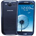 Smartphone Galaxy SIII Metálic Blue Tela Super Amoled 4,8 ´ , Android 4.0, Quad Core 1.4Ghz, 8MP, Vídeos Full HD, 16GB - Samsung