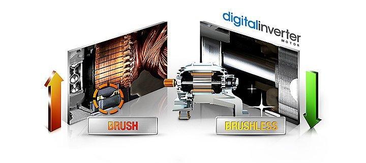 Digital Inverter Samsung oferece garantia de 10 anos para o motor das lavadoras de roupa