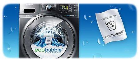 A lavadora tecnologia revolucionária Ecobubble