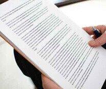 Impressão de artigos e materiais de estudo