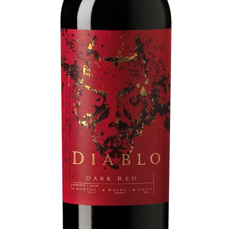 Vinho Diablo Dark Red